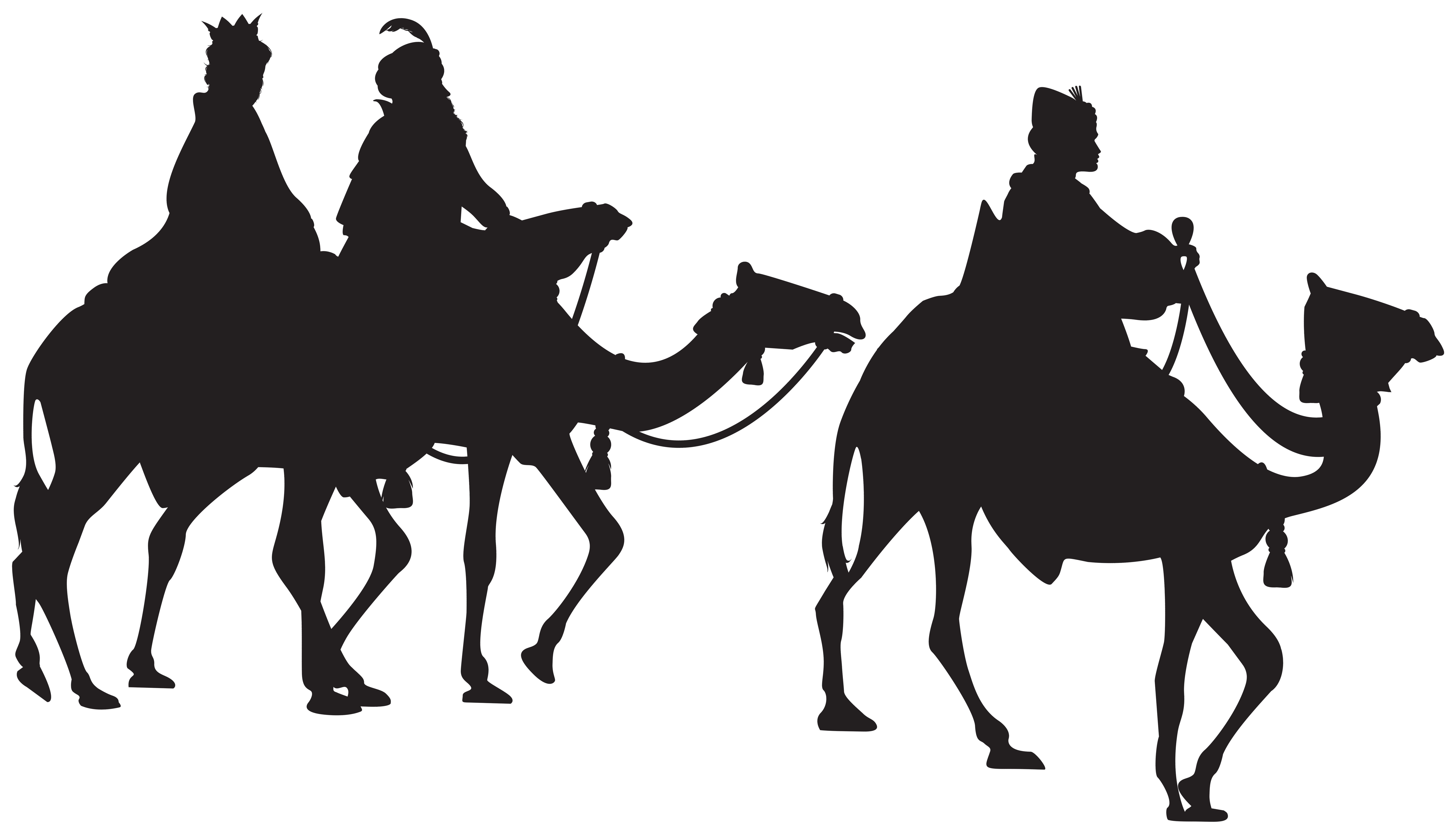 Three kings png clip. Epiphany clipart silhouette