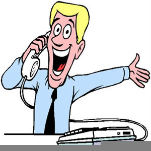 Phone clipart telemarketer. Free images at clker