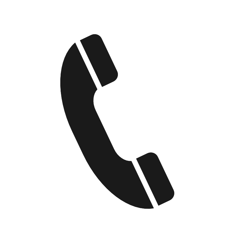Old style phone symbol. Telephone clipart sign