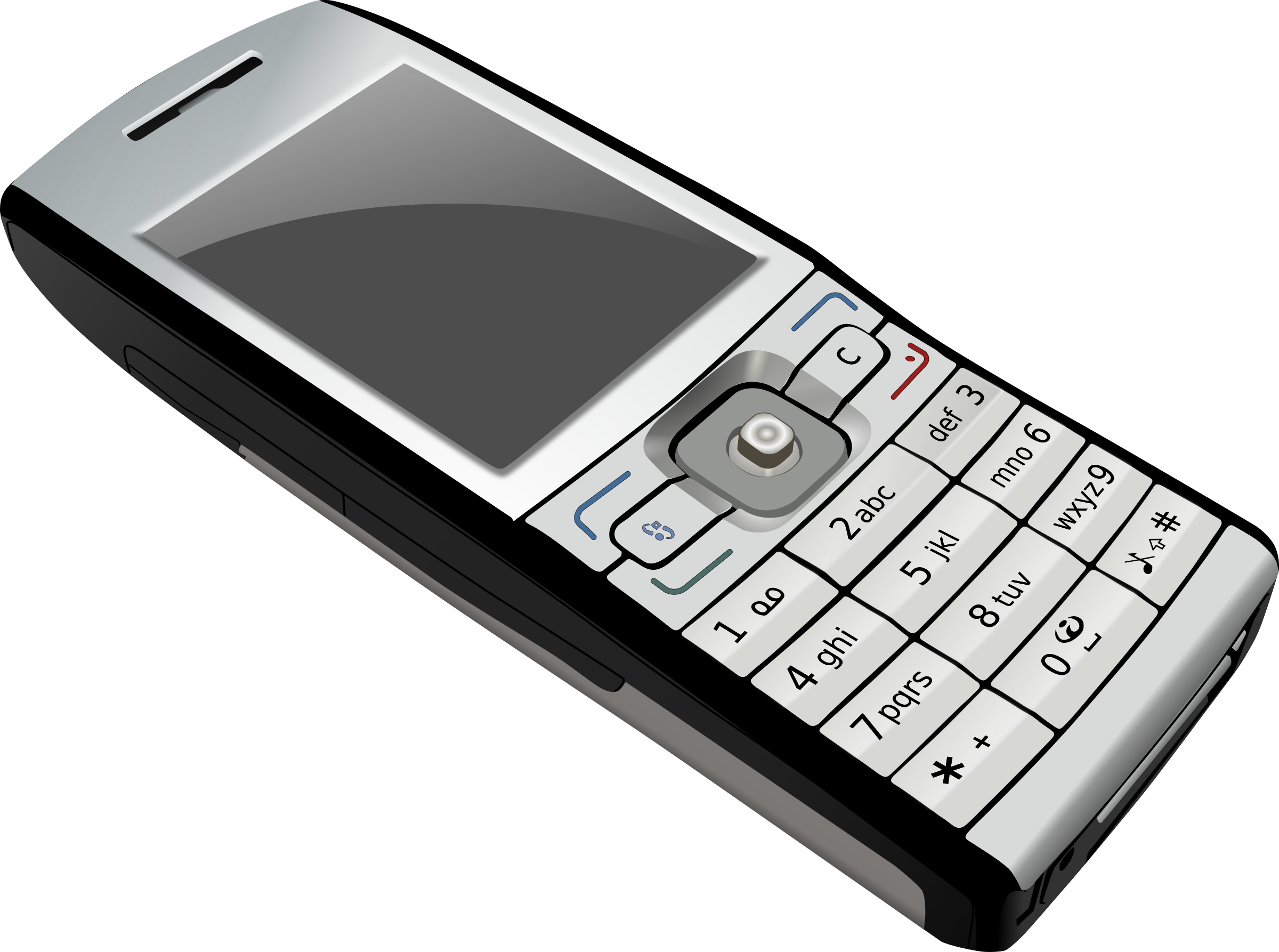 Big image png. Phone clipart modern