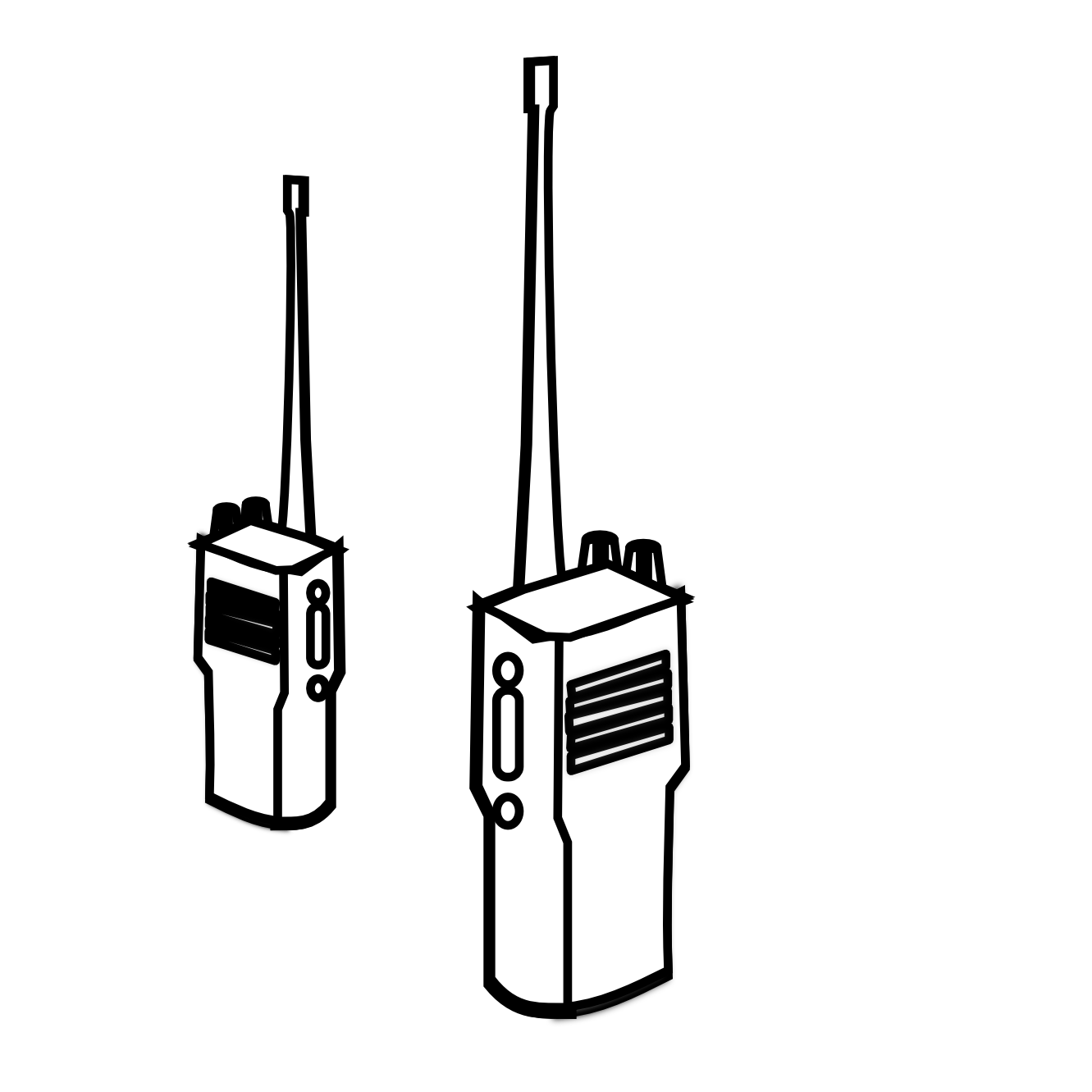 Clipart phone two way. Walkie talkie mobile clip