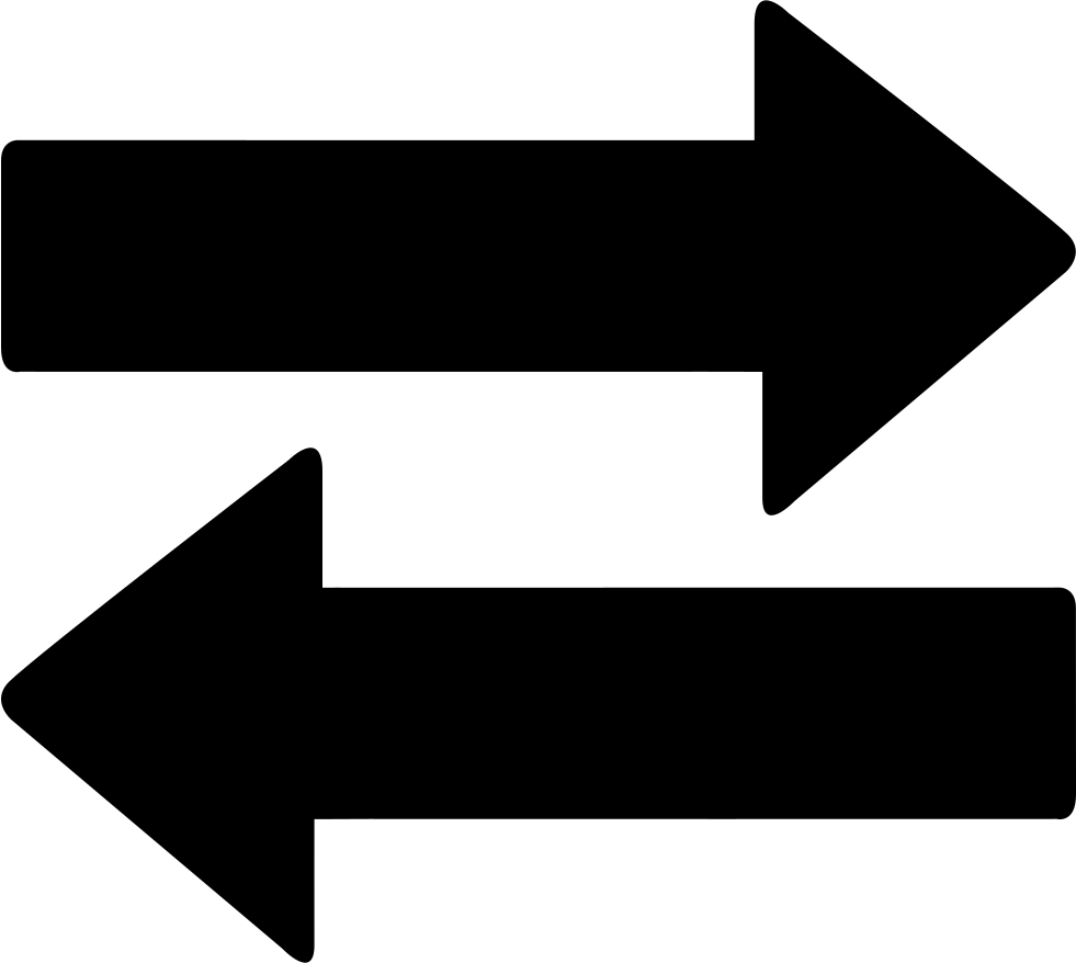 Two way arrows svg. Arrow icon png
