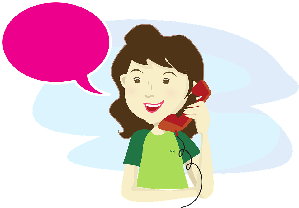 Man answering collection free. Clipart phone vector