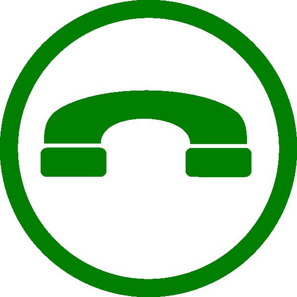 Clip art at clker. Telephone clipart green phone