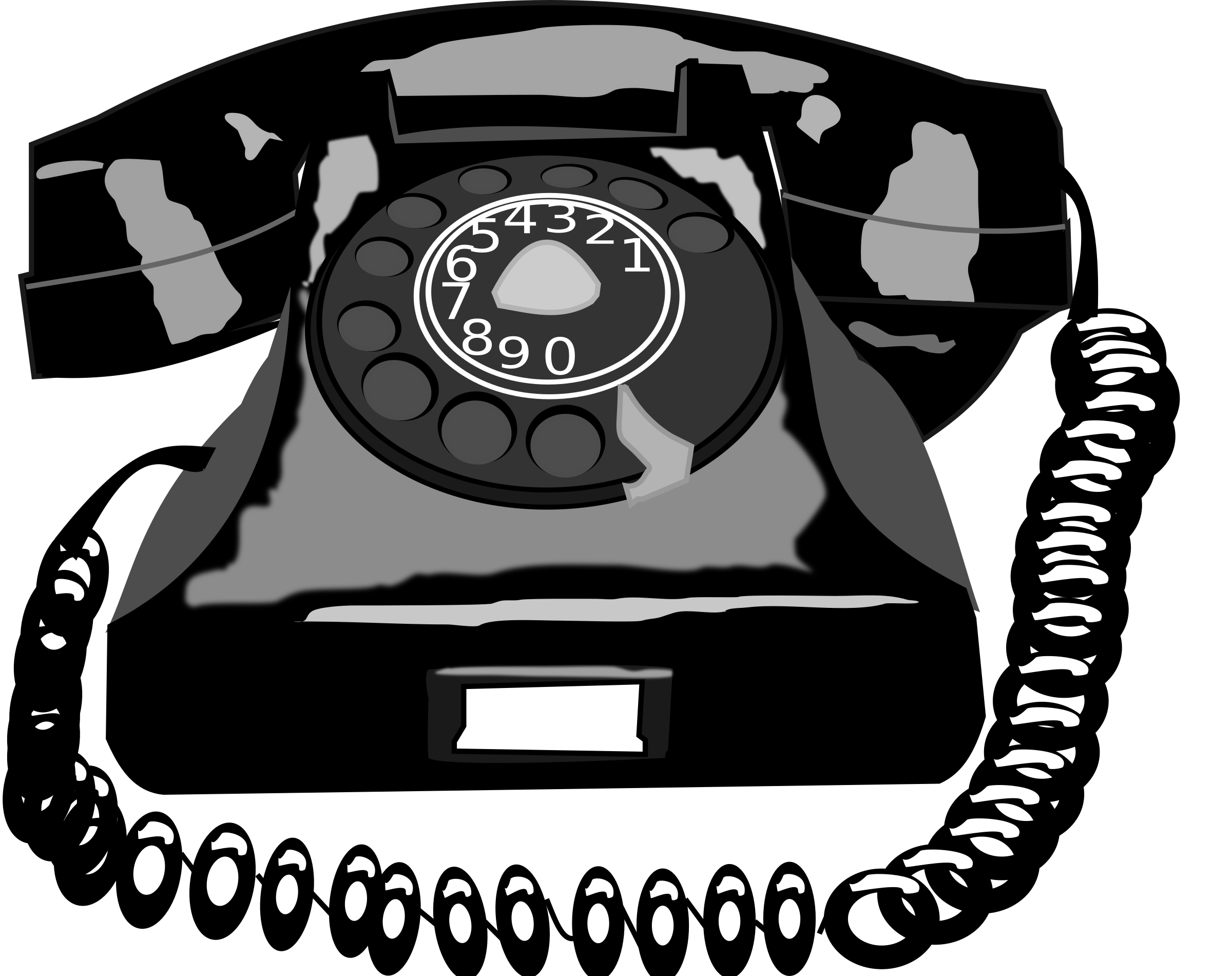 Telephone clipart retro telephone. Telefone vintage big image