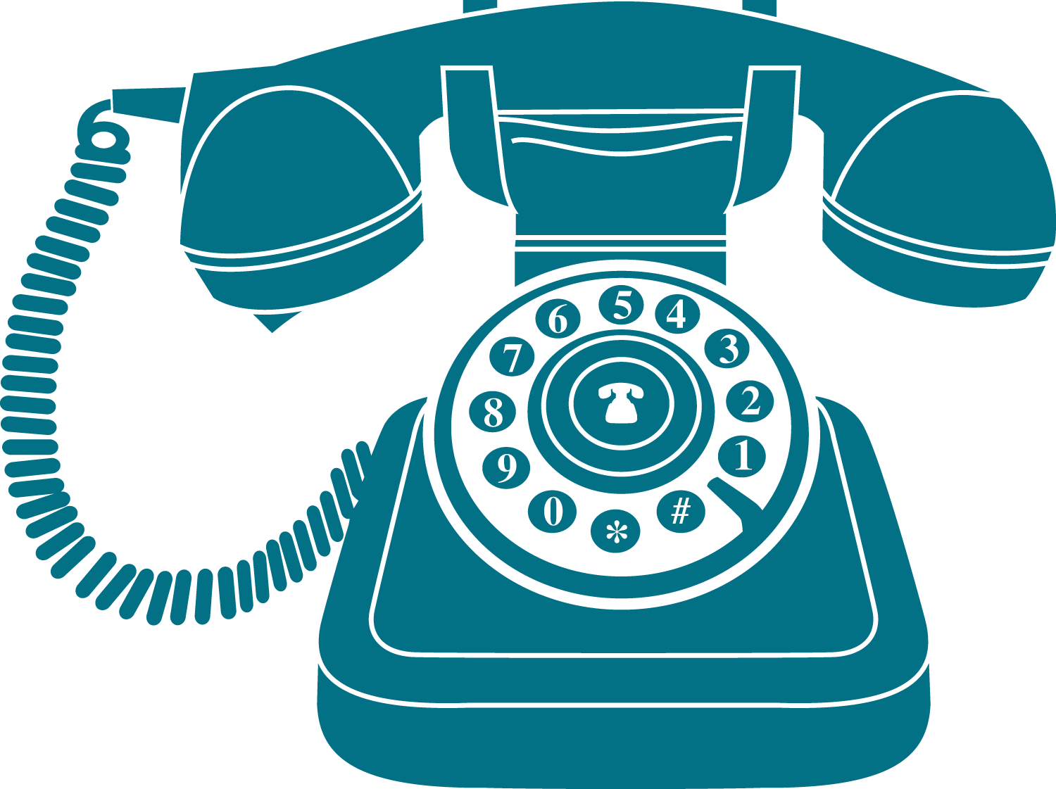 Phone clipart vintage phone. Blue icon transparent png