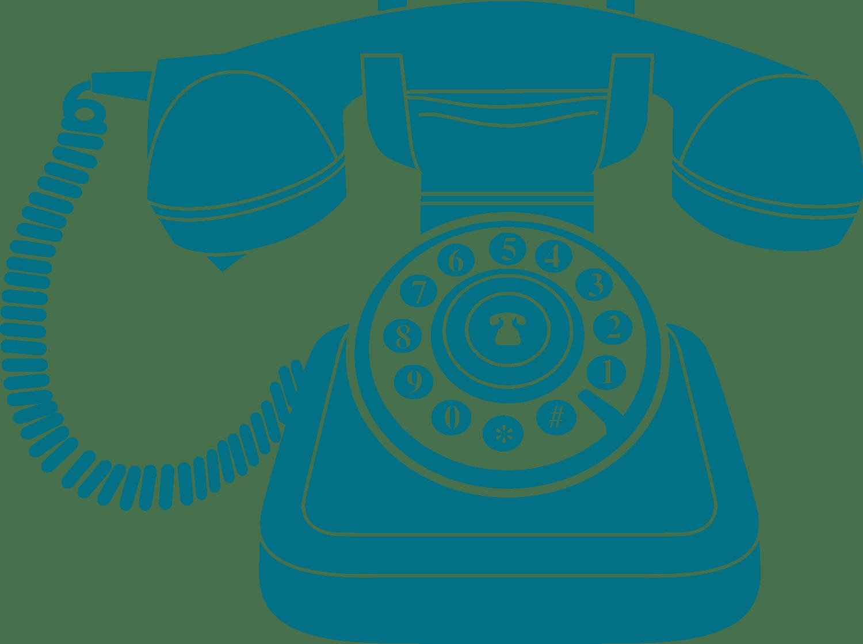 Telephone clipart vintage telephone. Blue phone icon transparent