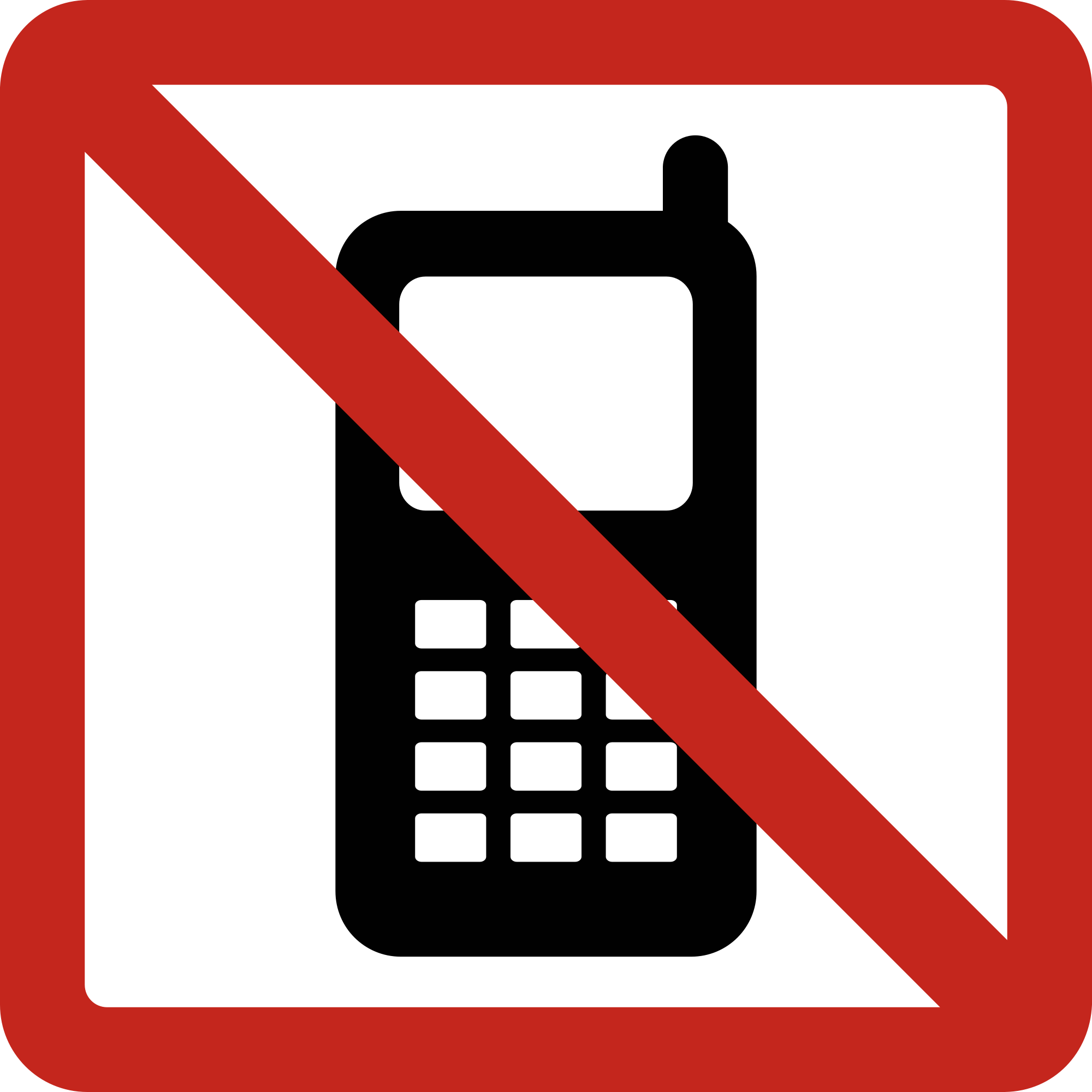 Driving clipart svg. File no cellphone wikimedia