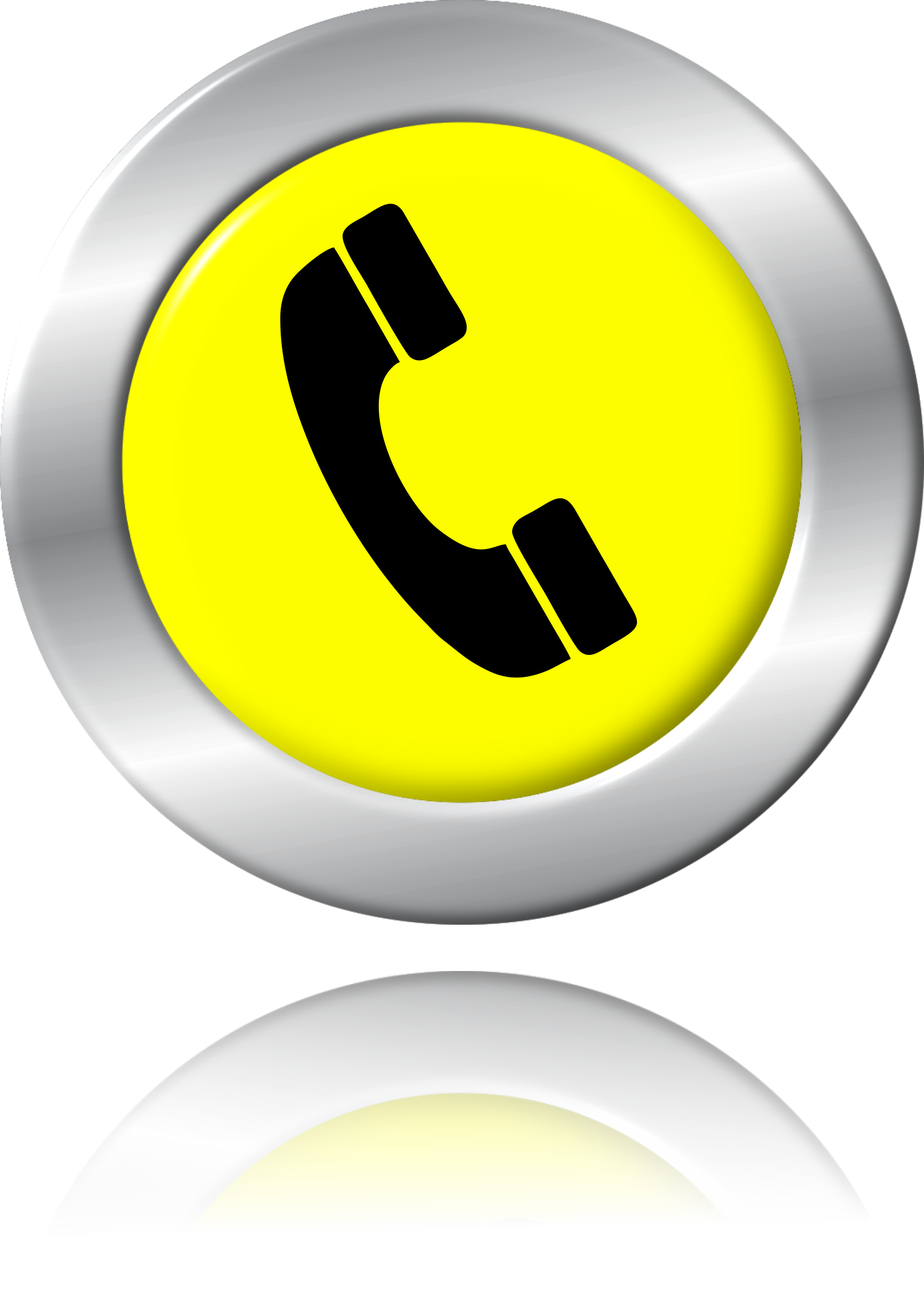 Advertising industry organization service. Telephone clipart yellow telephone