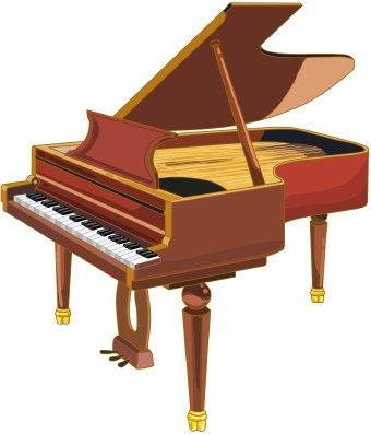 Clip art . Clipart piano