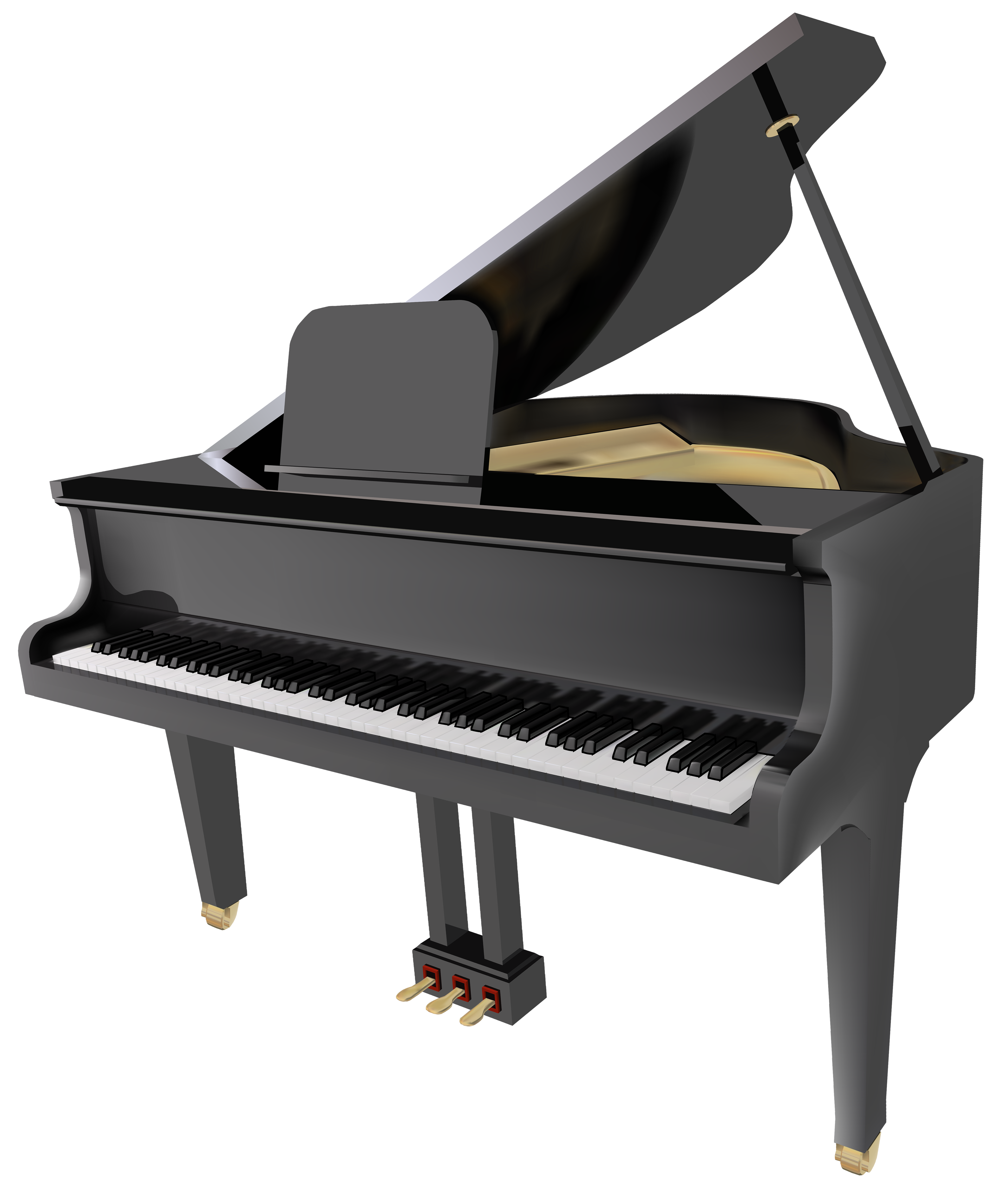 Piano clipart banner. Grand png best web