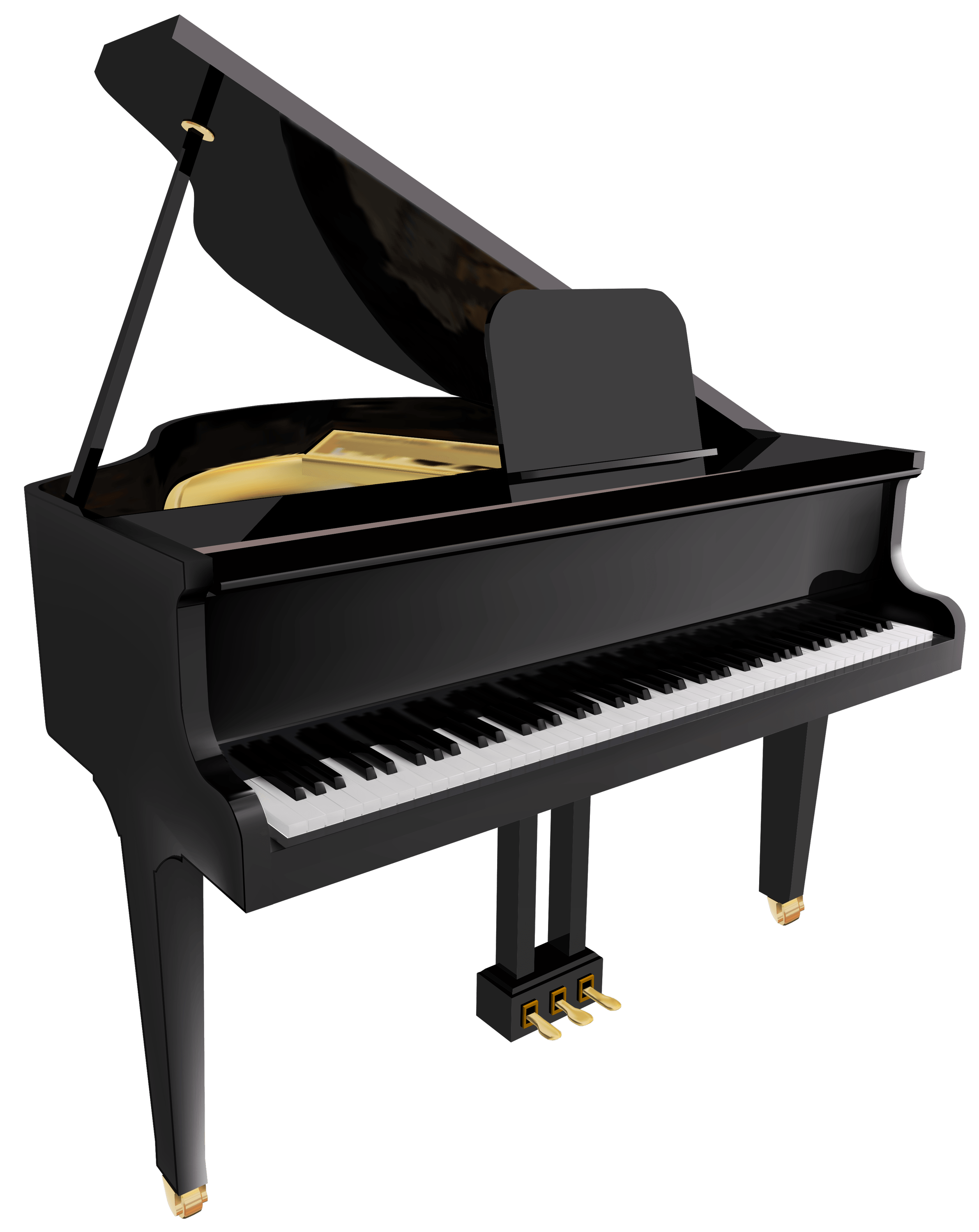 Transparent png stickpng objects. White clipart piano