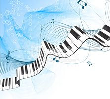 Piano clipart abstract. Keyboard stock vectors me