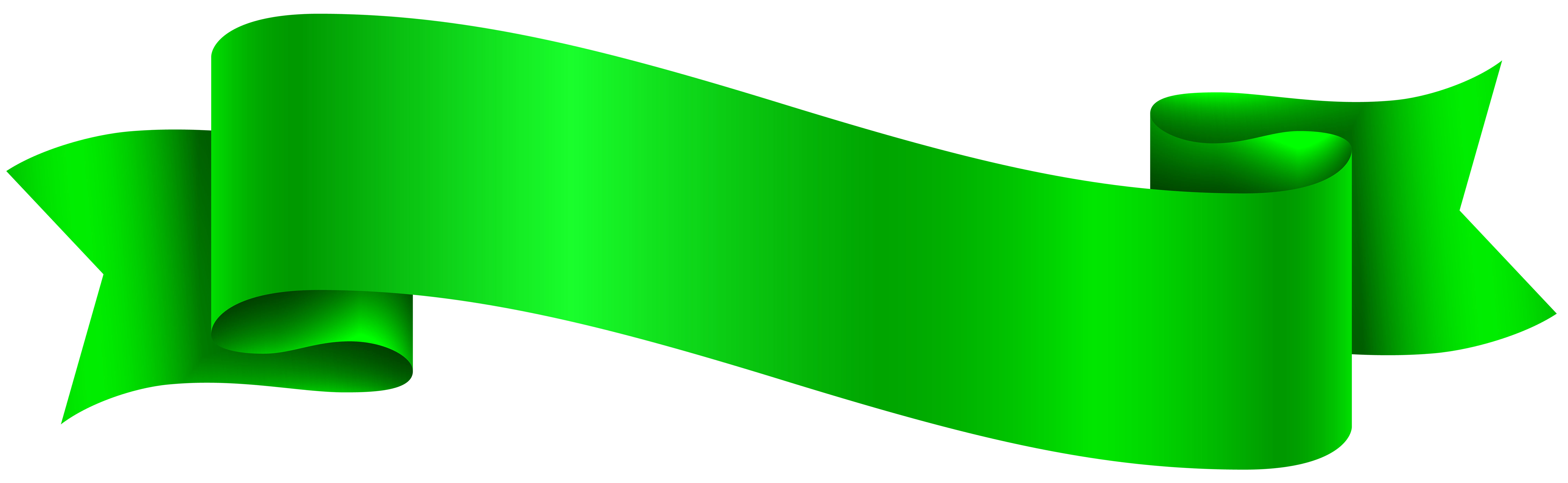 Green transparent png clip. Waves clipart banner