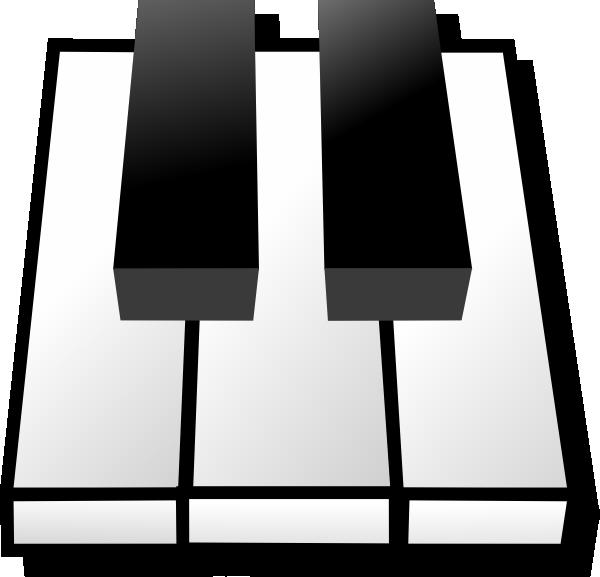 Note clipart piano. Clip art for border