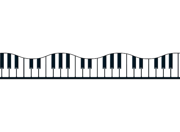 Piano clipart banner. Key free download best