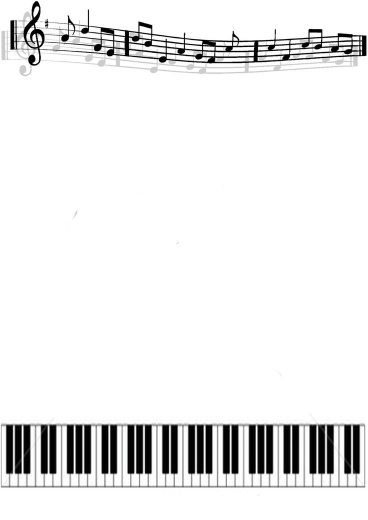 Free frames cliparts download. Piano clipart border