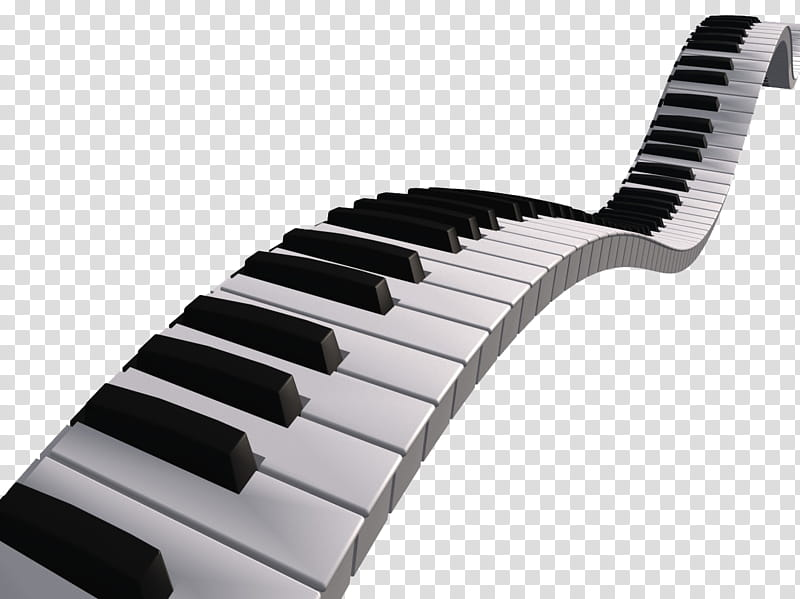 Piano clipart broken. Black and white keys