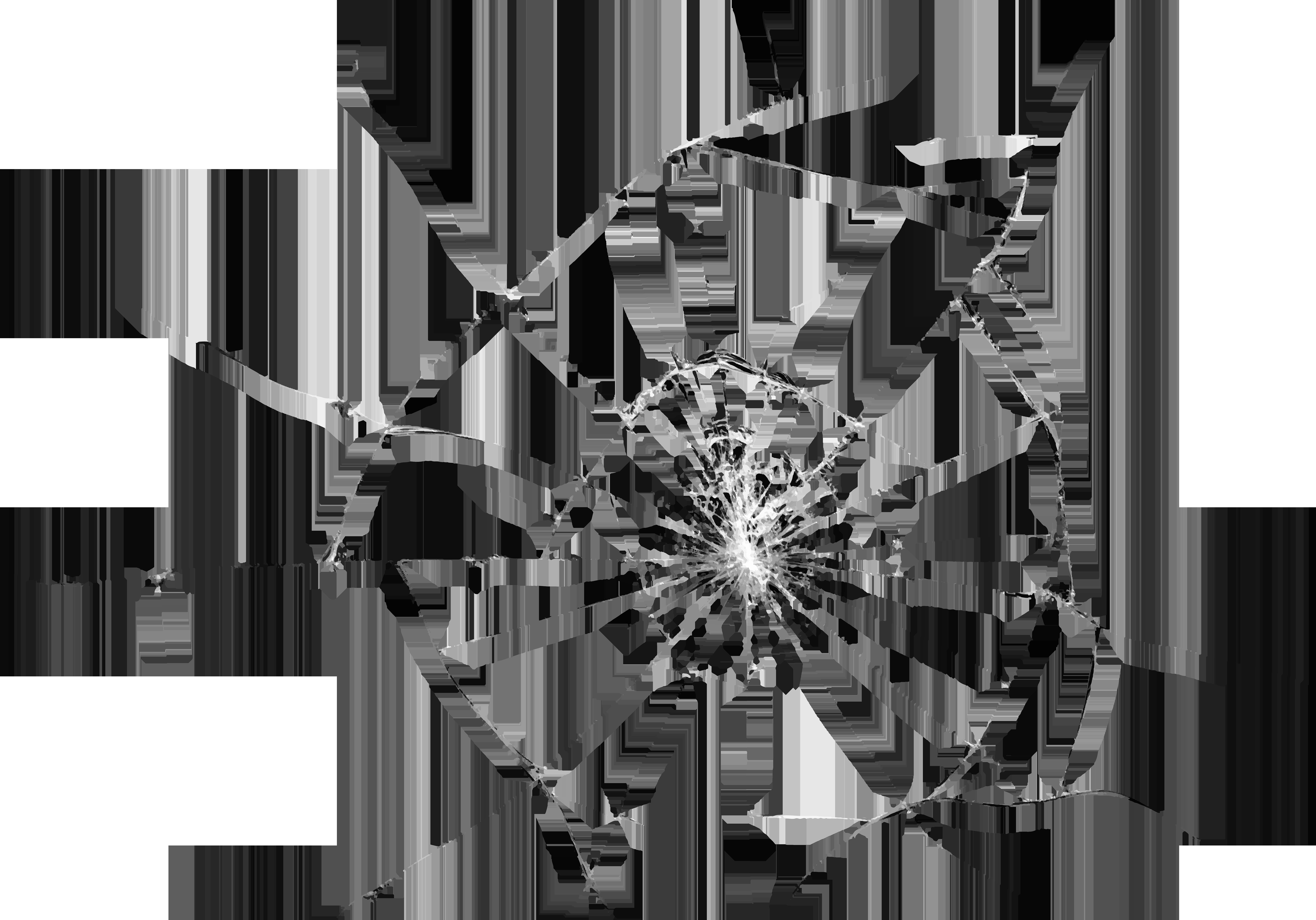 Broken effect png clip. Hole clipart glass transparent