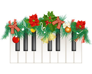 Clipart piano christmas. Cliparts free download best