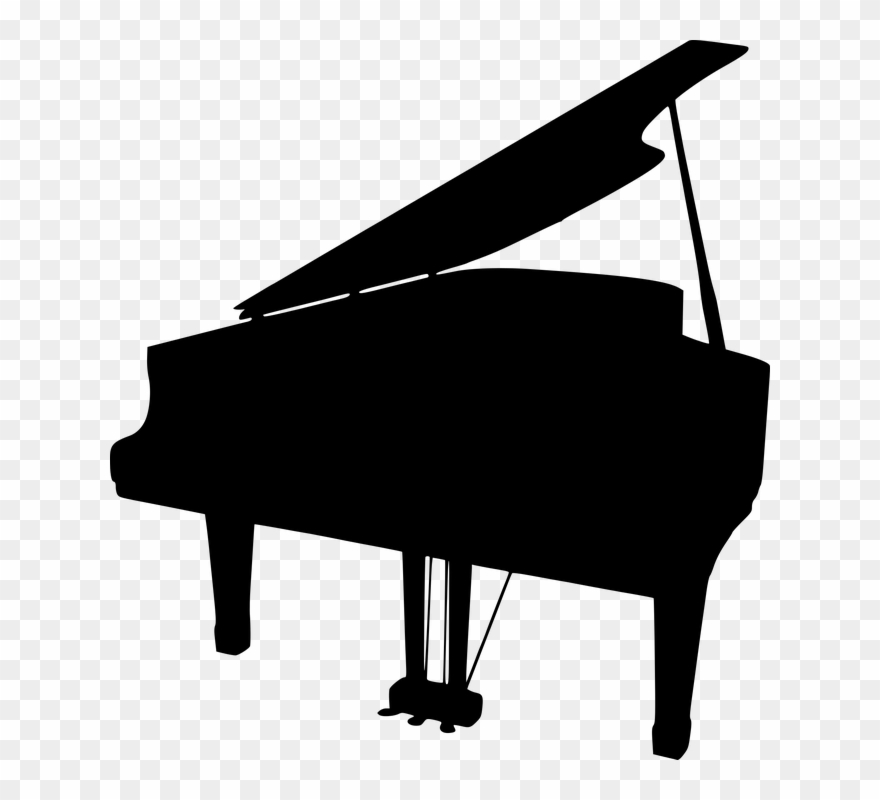 Clipart piano clear background. Clip art black and