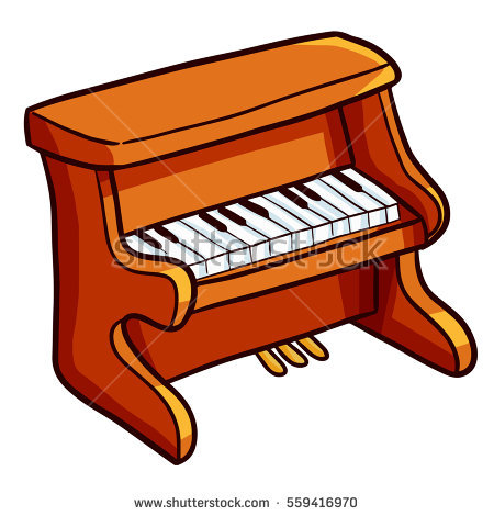 Piano clipart cartoon. Free download best