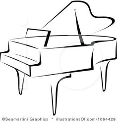 Simple drawing free download. Clipart piano easy