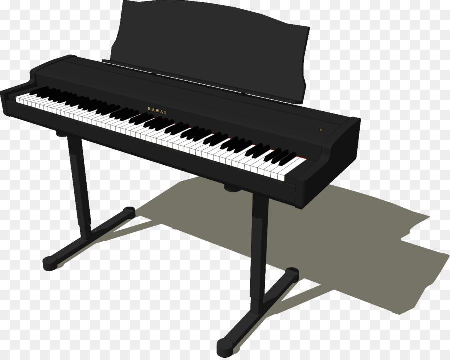 Piano clipart digital piano. Cartoon keyboard technology
