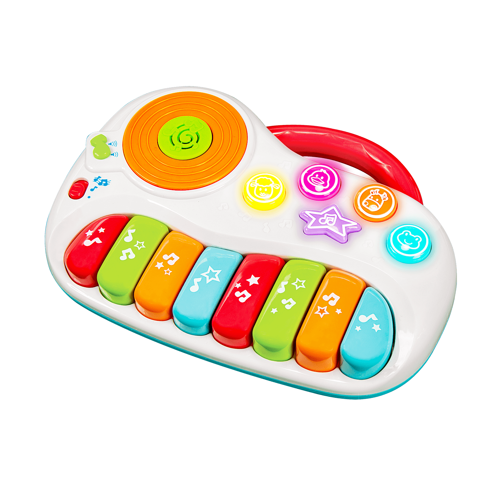 Clipart piano electronic toy. Musical toys winfun little