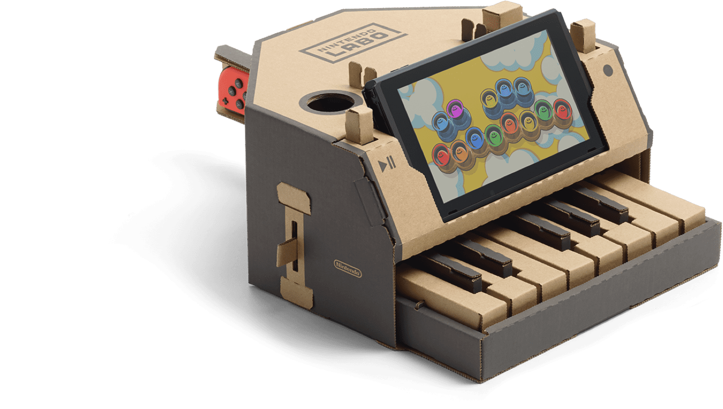 Piano clipart green toy. Nintendo labo for the