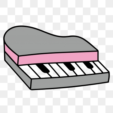 Piano clipart cute. Free download electronic toy
