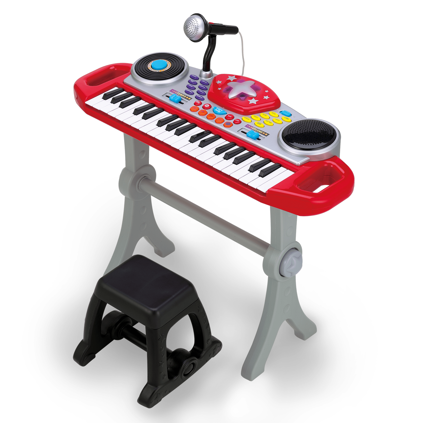 Piano clipart green toy. Musical toys winfun