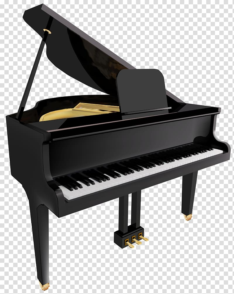 Piano clipart file. Transparent background png