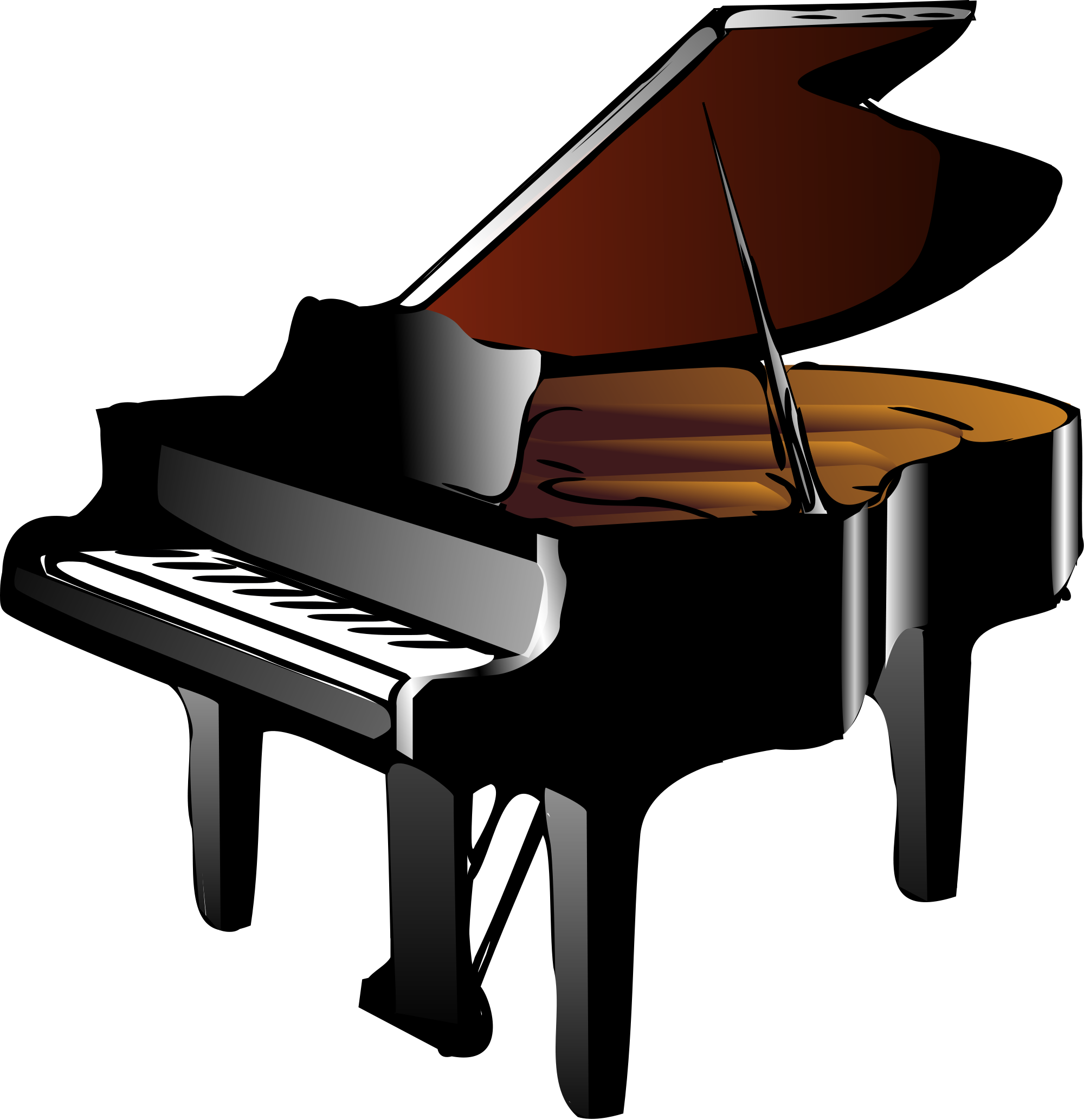File wikimedia commons open. Piano clipart svg