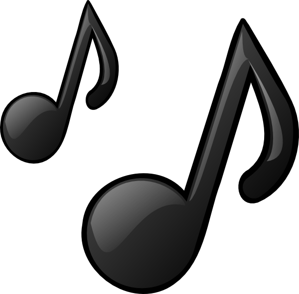 Note clipart music. Pictures of notes clip