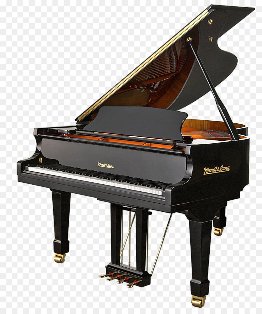 Cartoon keyboard technology . Clipart piano grand piano