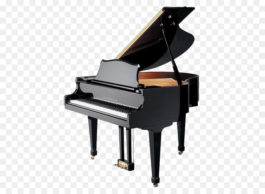 Clipart piano grand piano. Cartoon keyboard technology