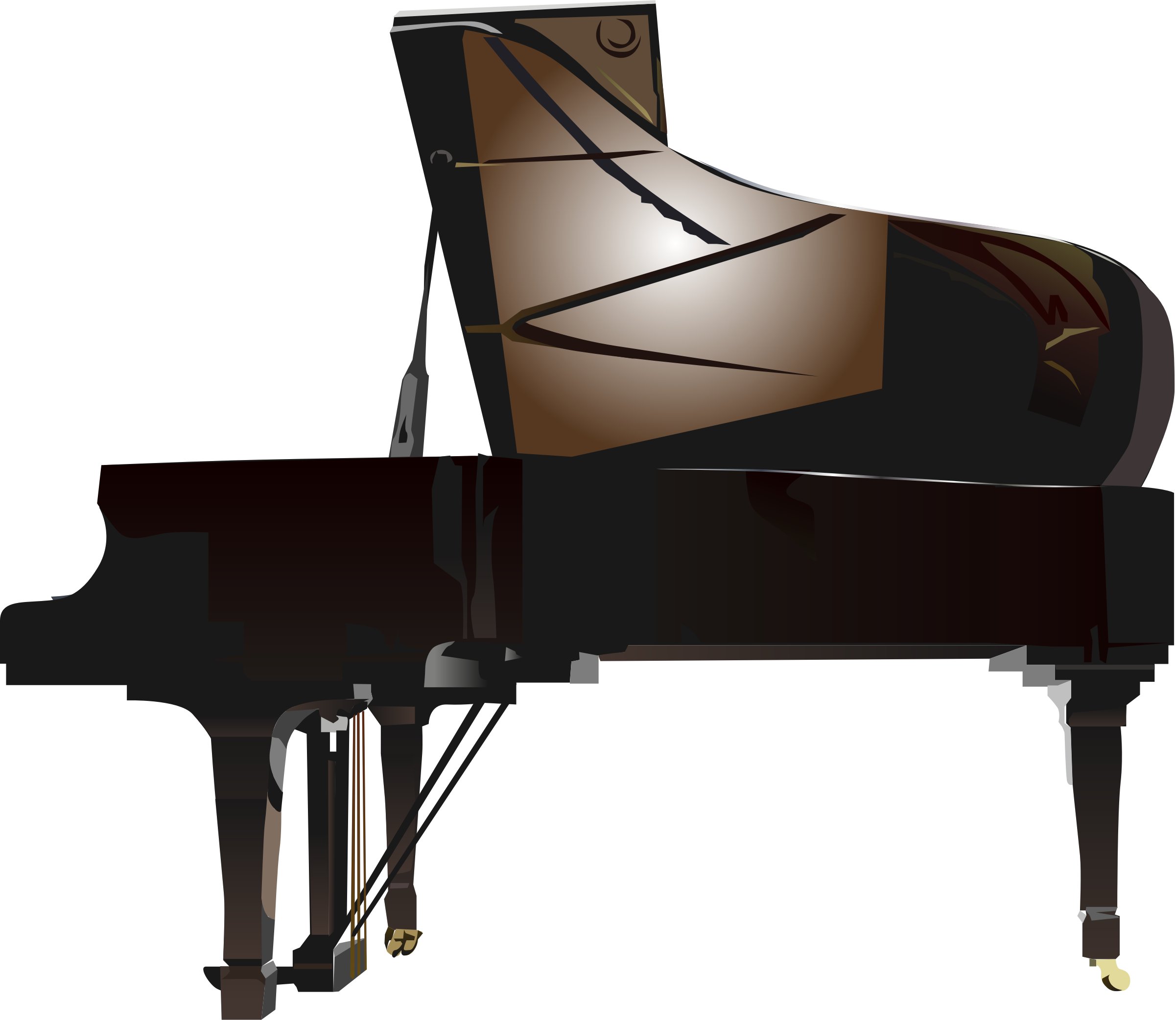 Grand big image png. Piano clipart harpsichord