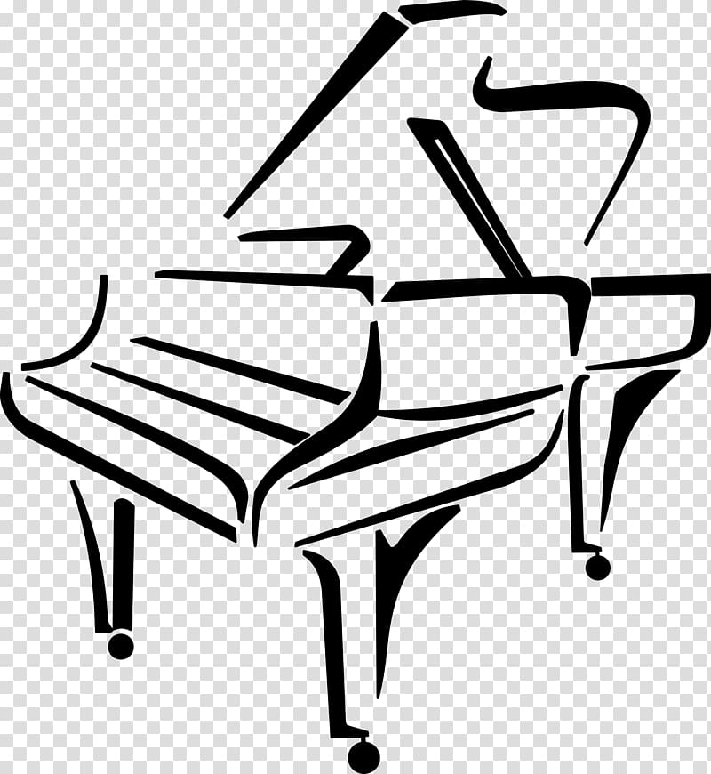 Piano clipart illustration. Classical drawing music