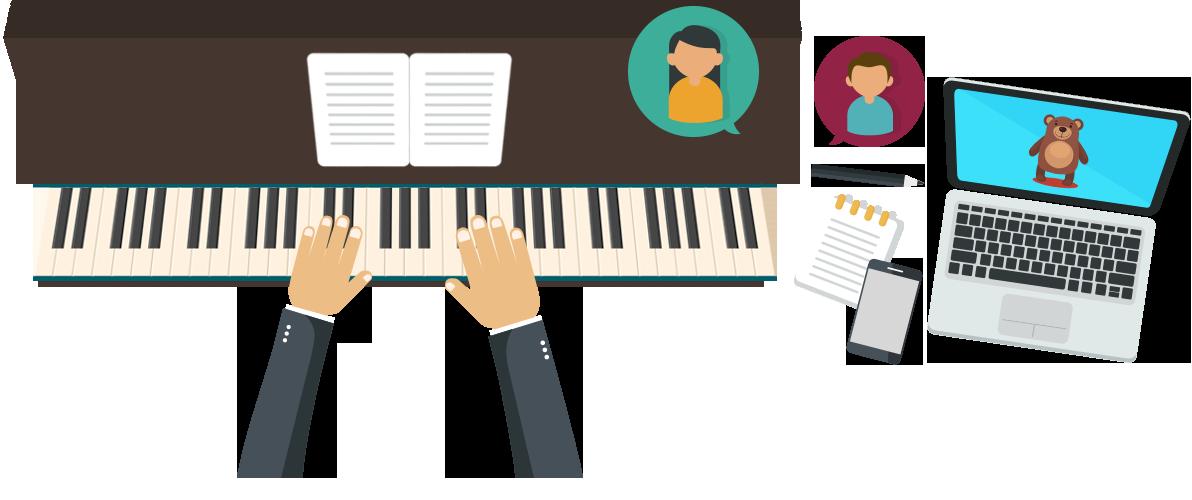 Technique the definitive source. Musician clipart piano teacher