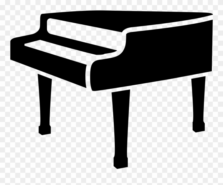 Piano clipart black and white.  free stock huge
