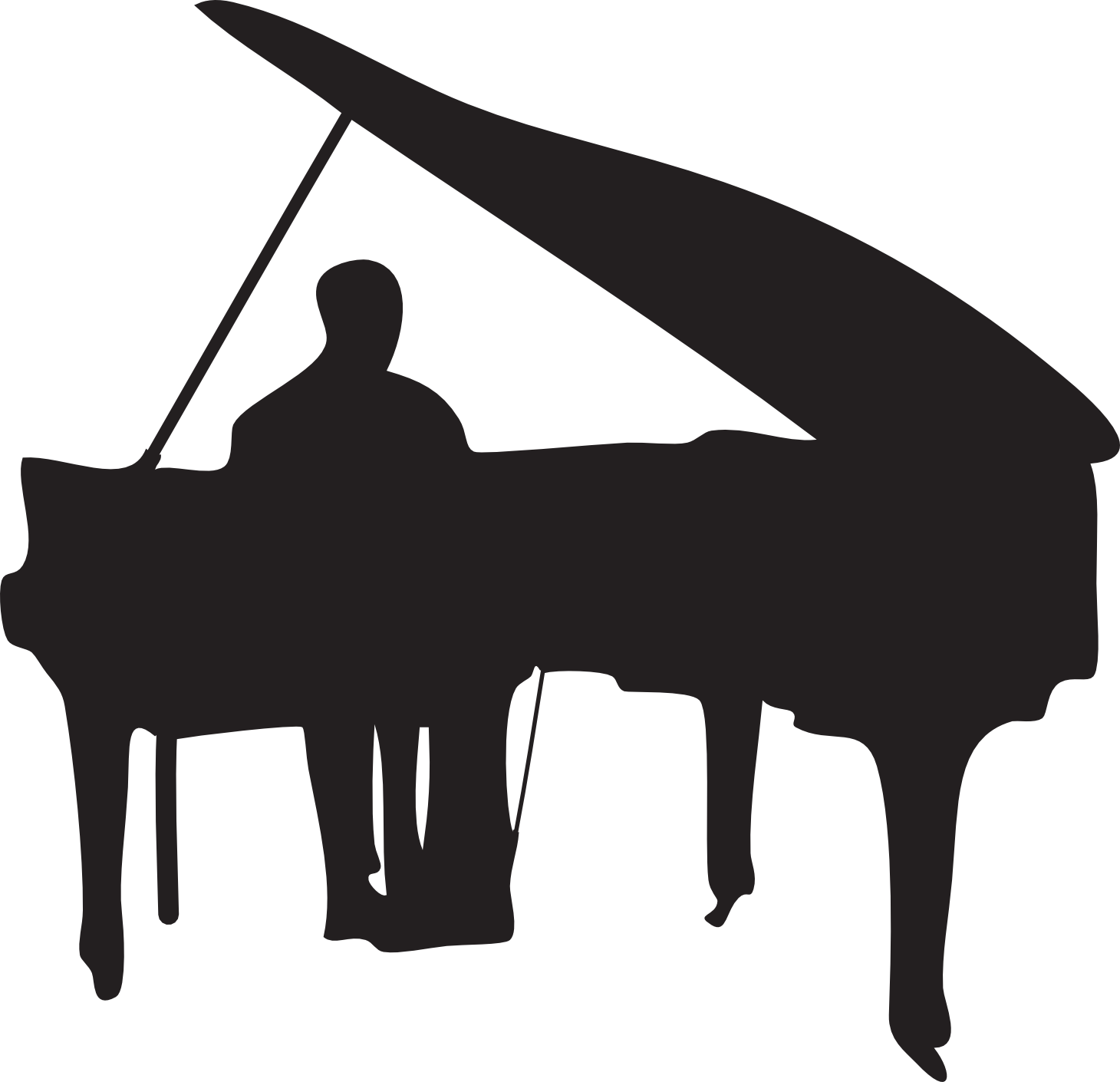 Grand player png download. Jazz clipart jazz piano