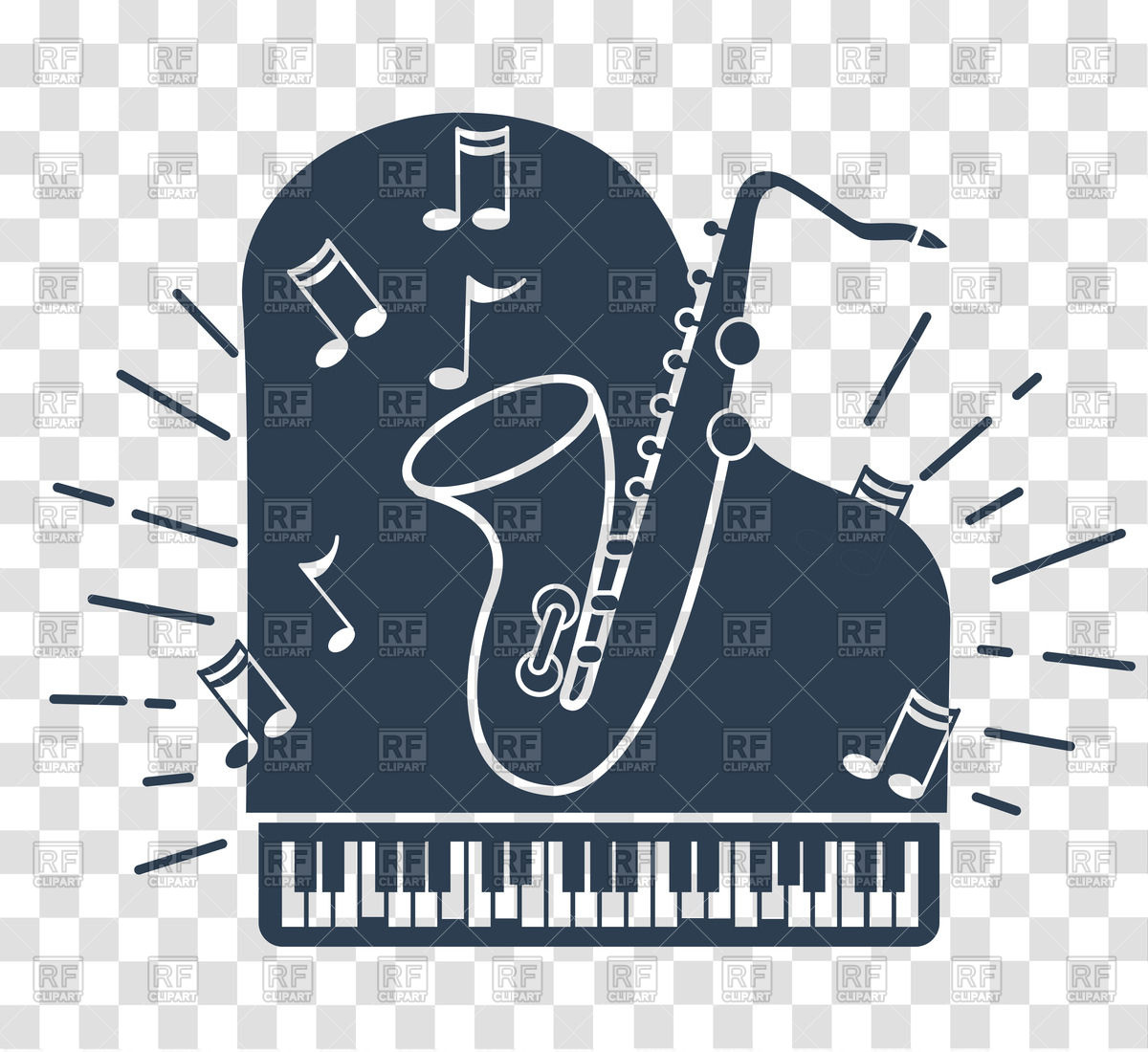 Jazz clipart jazz piano. Station