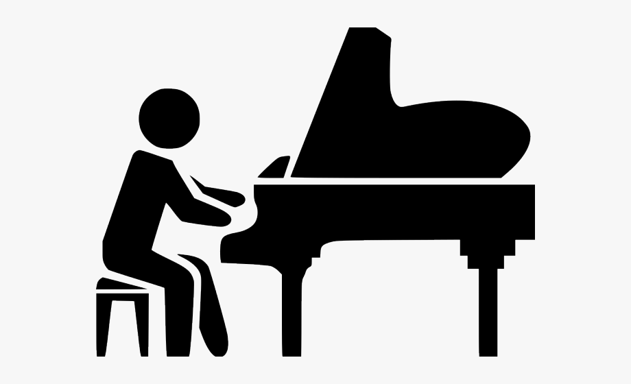 Icon png free cliparts. Piano clipart svg