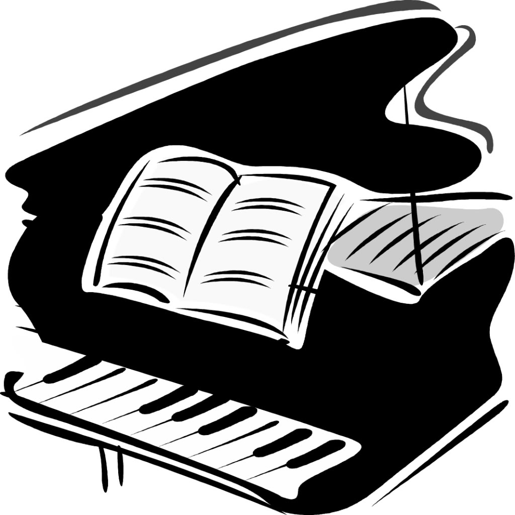 Piano clipart two. Free grand download clip