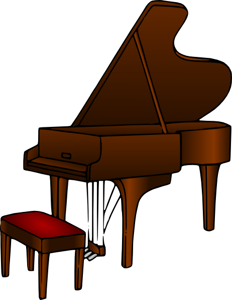 Piano clipart public domain. Clip art at clker
