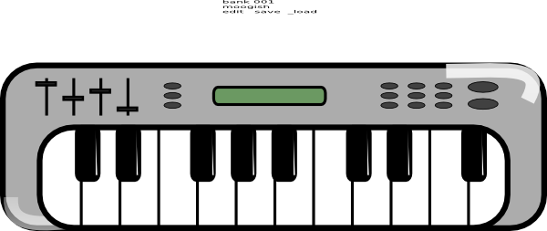 Piano clipart electric. Collection of keyboard free