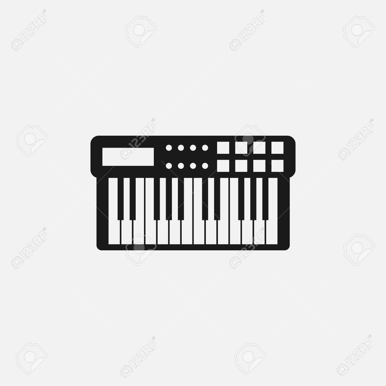 X free clip art. Piano clipart midi keyboard