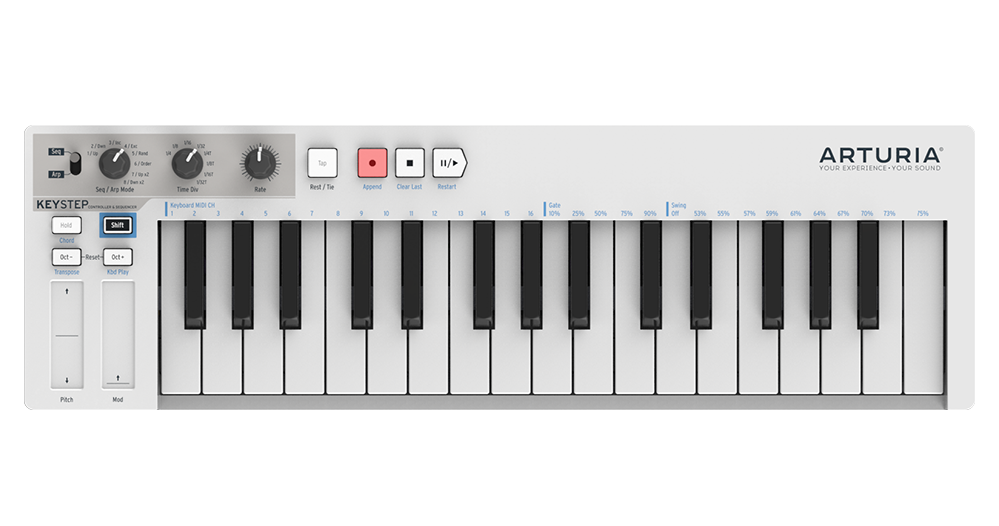 Arturia overview redefining the. Piano clipart midi keyboard