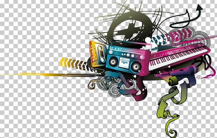 Rendering internet png d. Piano clipart music radio
